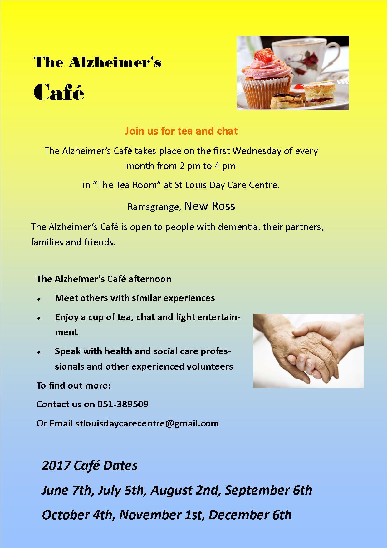 alzheimers cafe 2017